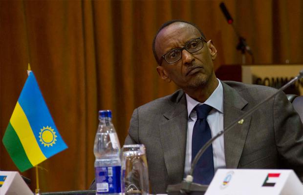 ISAAC KASAMANI [AFP] - Le président rwandais Paul Kagame