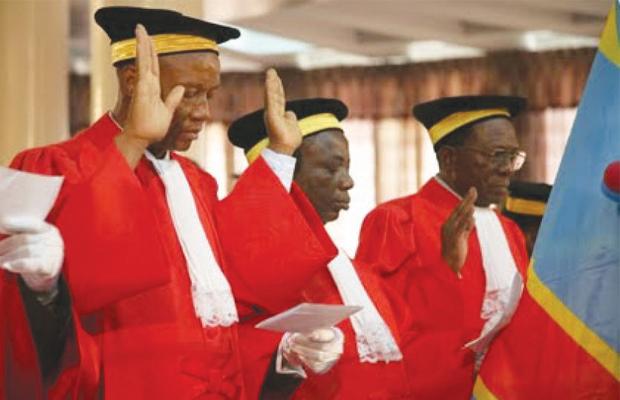 Des hauts magistrats congolais prêtent serment avant leur entrée en fonction PHOTO BEF