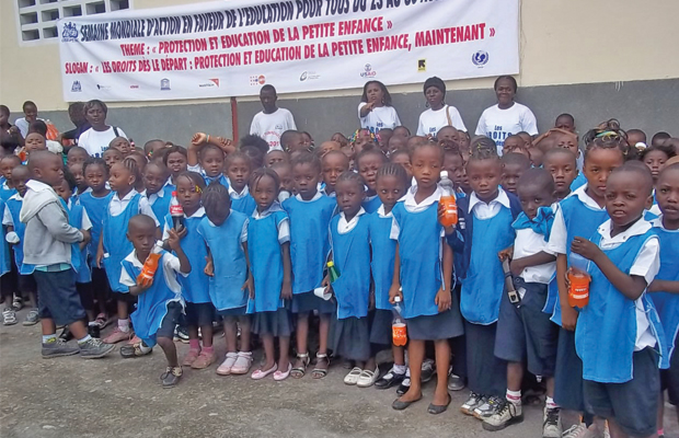 Les élèves de la maternelle ont aussi droit à la gratuité de l'enseignement en RD Congo