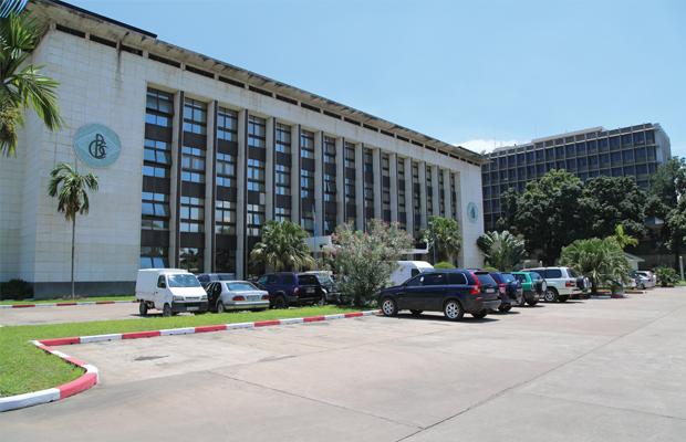 Siège de la Banque centrale du Congo à Kinshasa/Gombe (photo BEF)