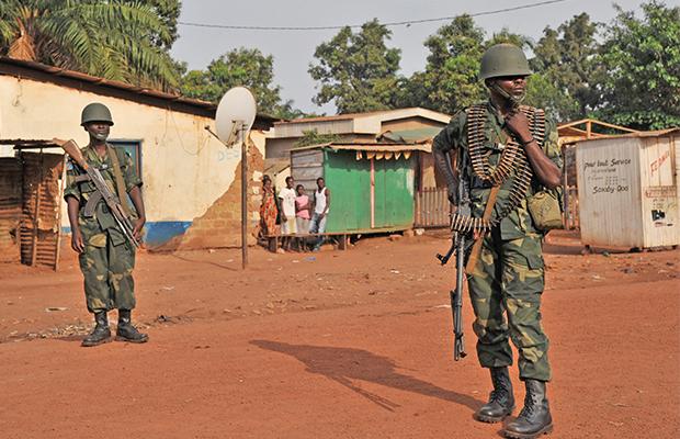 Les mulitaire de la Mission de stabilisation en République Centrafrique, (photo AFP)