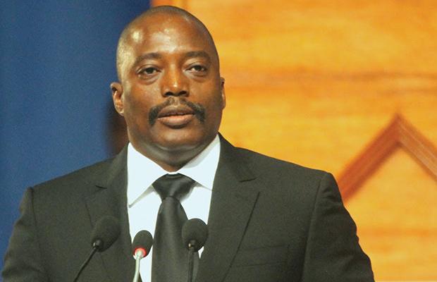 Le Président de la Rép Dém. du Congo Joseph KABILA