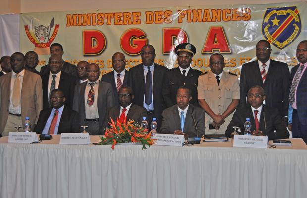 La Dgda déterminée à réaliser plus de 2 mille milliards FC, (photo BEF)