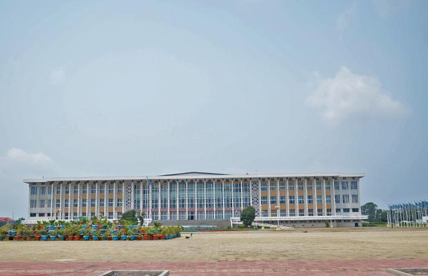 Palais du peuple, siège du Parlement de la République démocratique du Congo, (photo BEF)