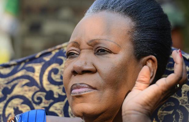 Cathérine Samba, présidente de la République Centrafricaine.