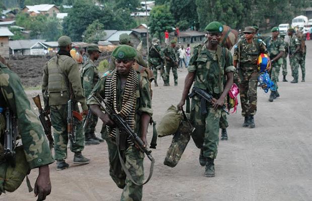 Les FARDC, lors d'une opération dans les Kivu.