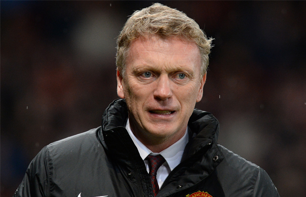 Responsable de Manchester United David Moyes