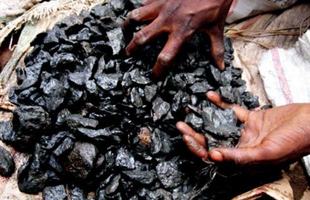 Un colis de coltan, (photo Radio Okapi)