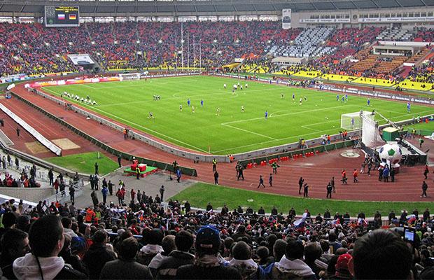 Le stade Luzhniki de Moscou, un des douze sites où vont se jouer les matches de la phase finale de la Coupe du monde 2018. (Photo Wikipedia)