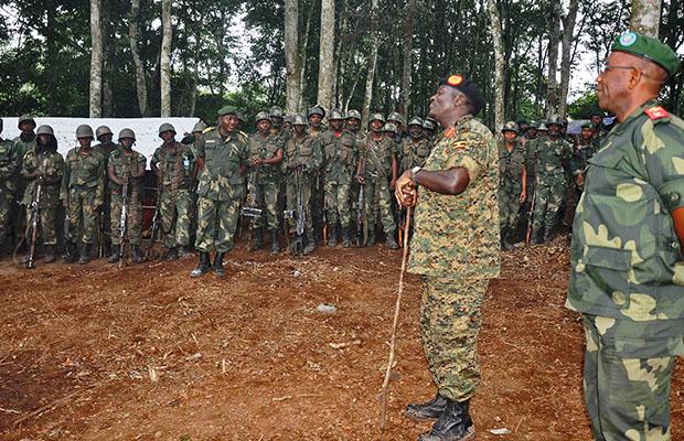 L' objectif des Fardc: éradiquer tous les groupes armés sans exception