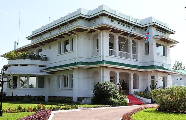 Hôtel du Gouvernement à Kinshasa Gombe en RD Congo, (Photo BEF)