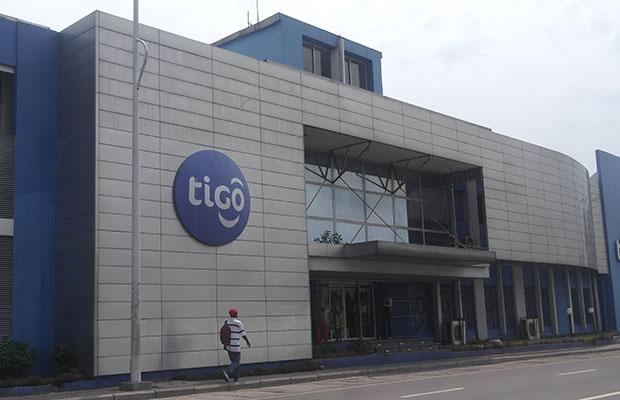 Le siège de l'opérateur Tigo sur l'avenue colonel Mondjiba à Kinshasa-Ngaliema