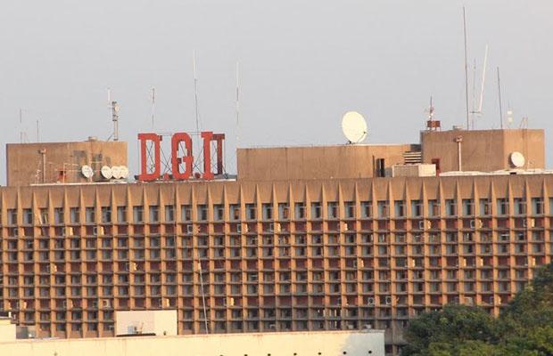 Bâtiment administratif de la DGI.  (Photo Radio Okapi)