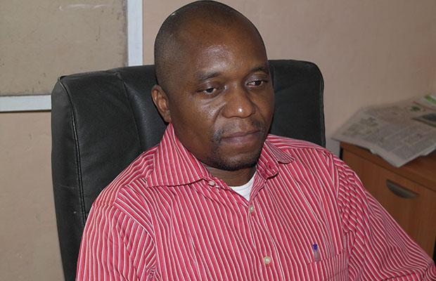Blaise Kabongo Mujika, l'auteur du livre.