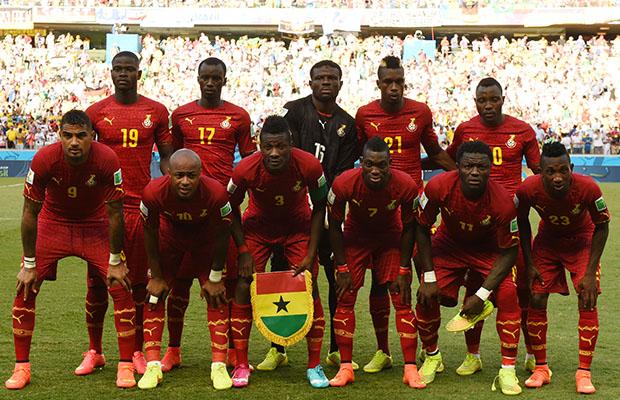 L'équipe ghanéenne a fini dernière de son groupe. (Photo DR)