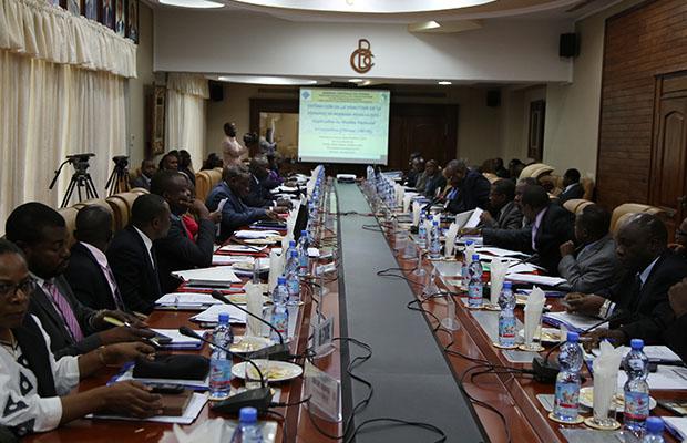 Une réunion du Comité de politique monétaire de la BCC. (Photo BEF)