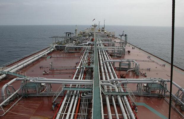 Un terminal de stockage pétrolier au large de l'Angola. (Photo DR)