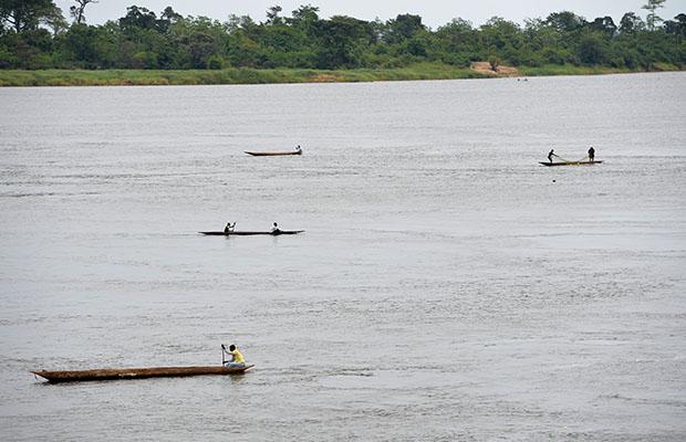 Une vue du fleuve Congo. (Photo DR)