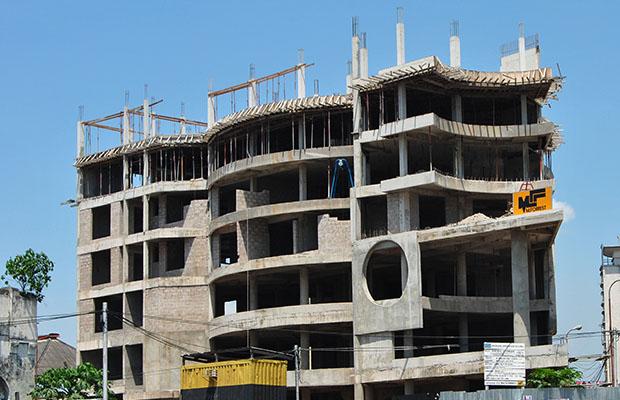 Les sources de financement de la plupart des chantiers à Kinshasa ne sont pas connues. (BEF)