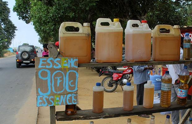 La hausse du prix du carburant n'a pas eu d'effets collatéraux dans la chaîne des prix. (Photo Radio Okapi)