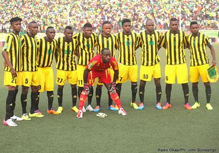 feature__0003_31_01 – L'équipé de l'As Vita club, lors du match contre Al Hilal du Soudan dans le cadre de la quatrième