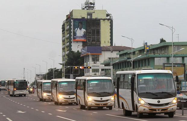 Kinshasa a besoin de 5015 unités de transport, pour un coût d'investissement de 351,3 millions de dollars. (DR)