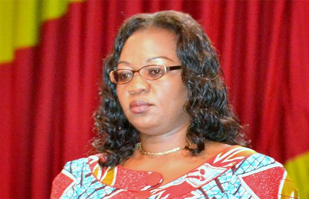 Géneviève Inagosi, ministre du Genre, Famille et Enfant. (Radio Okapi)