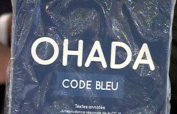 Le Code bleu reprend les différents arrêts rendus en application du droit OHADA. (Photo BEF)