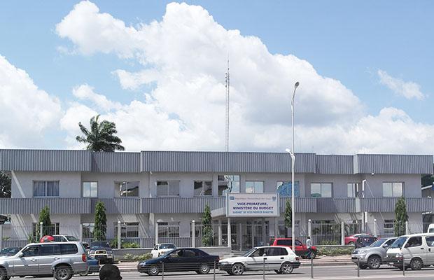 Siège du Ministère du Budget à Kinshasa. Gombe (Photo BEF)