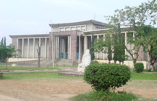 Bâtiment de l'Université de Kinshasa. (DR)