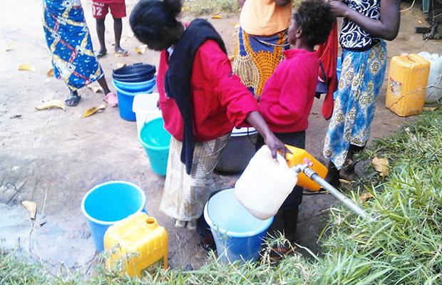 Seulement 26 % de congolais ont accès à l'eau potable. (Photo BEF)