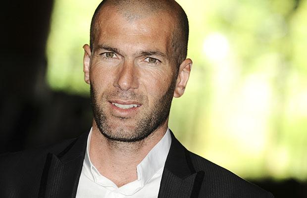 Zidane, coach de l'équipe réserve du Real Madrid.