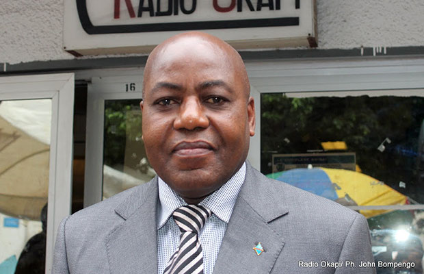 Martin Kabwelulu, ministre des Mines.