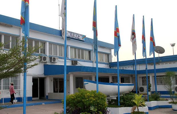 Des bureaux de la Société commerciale des transports et des ports au Beach Ngobila, à Kinshasa.