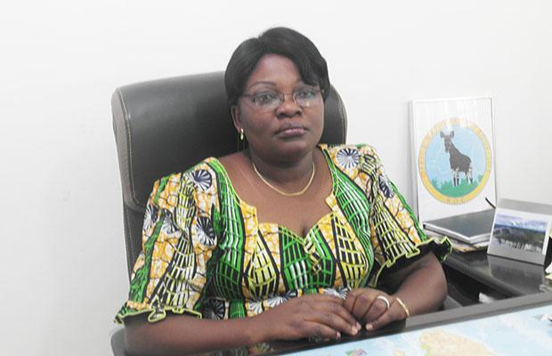 Rosette Saiba Lwanza, directrice générale de l'Office national du tourisme.