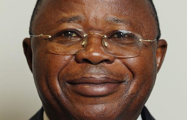 Bruno Kapandji Kalala, ministre des Ressources hydrauliques et de l'Electricité.