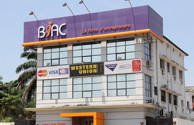 Une des agences BIAC dans la commune de la Gombe.