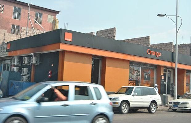 Une agence de la compagnie Orange dans la commune de Kintambo.