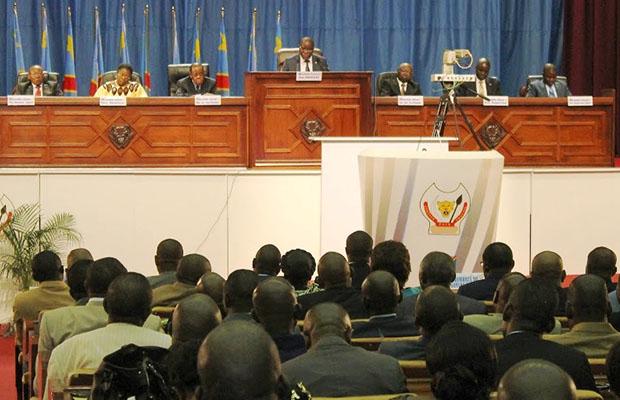 Une vue de l'Assemblée nationale lors d'une plénière.