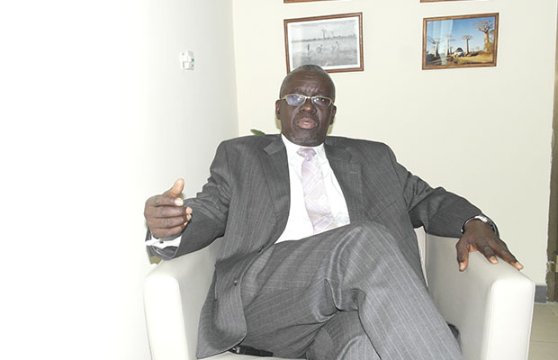 Amadou Oumar Ba, responsable du Projet d'appui à la réhabilitation et à la relance agricole.