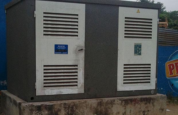 La facturation forfaitaire est établie sur base de la consommation globale d'énergie indiquée au niveau de la cabine. (BEF)