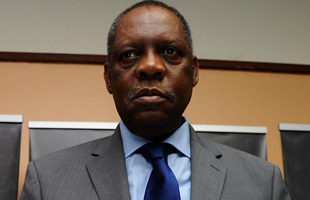 Le camerounais Issa Hayatou, président de la CAF.
