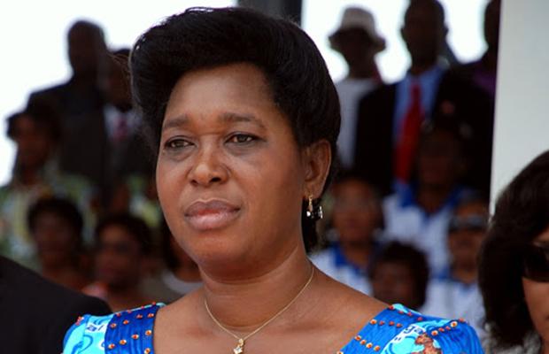 Marie-Ange Lukiana Mufwankolo, ancienne ministre, adepte du cheveu naturel.
