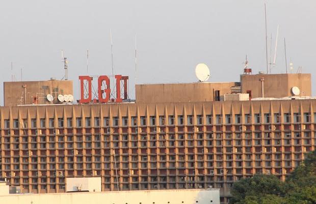 Les bureaux de la Direction générale des Impôts, à Kinshasa.