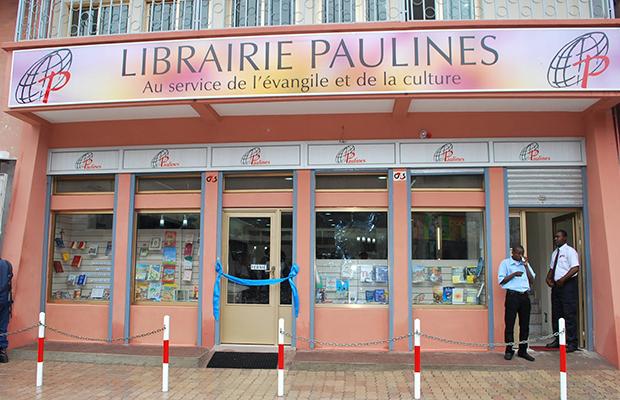 Une librairie catholique place Victoire, dans la commune de Kasa-Vubu.