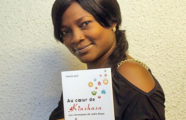 Céleste Ipoli, une des rares Congolaises à avoir publié un livre.