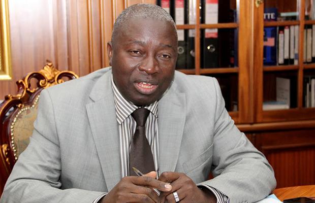 Éric Mbala Musanda, administrateur délégué de la Société nationale d'électricité.