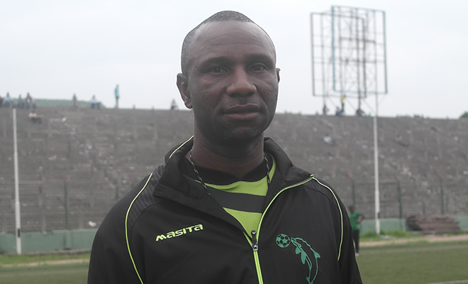 Jean-Florent Ibenge, entraîneur de Vita Club et des Léopards.
