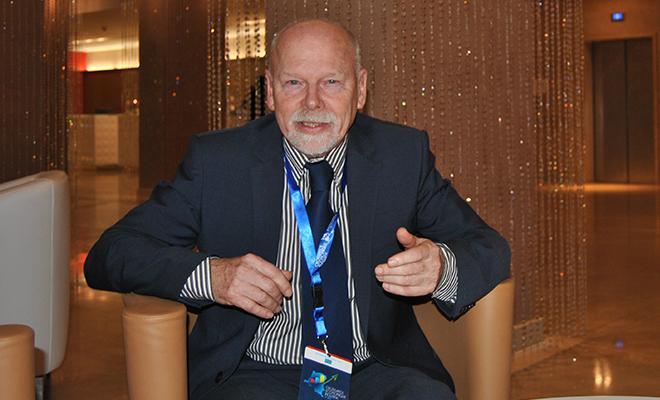Stefaan Marysse, professeur émérite à l'université d'Anvers, en Belgique.