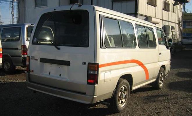 Un minibus de marque chinoise semblable au design japonais.